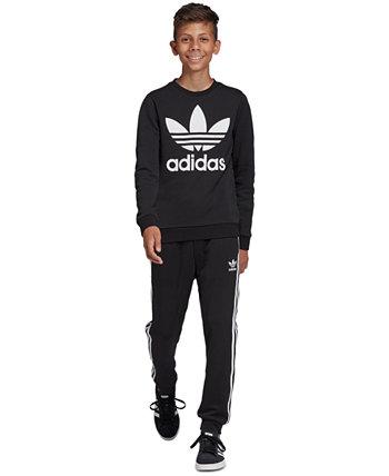 Толстовка Terry с логотипом Big Boys Adidas