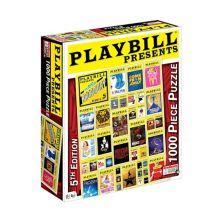 Бесконечные игры 1000-шт. Афиша представляет собой пазл из бродвейского музыкального сборника Endless Games