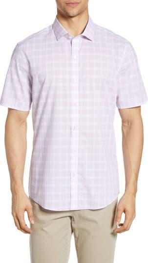 Клетчатая спортивная рубашка стандартного кроя Dimaso Zachary Prell