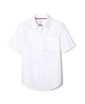 Классическая рубашка для больших мальчиков с короткими рукавами и расширяющимся воротником French Toast