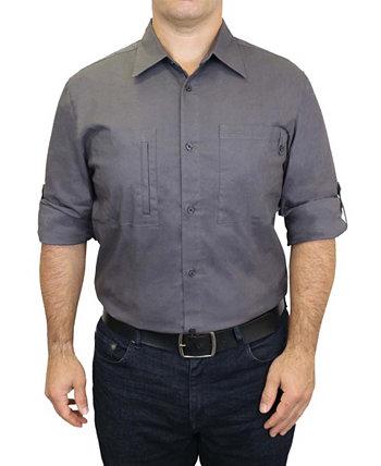 Мужская рабочая одежда из хлопка и эластичной рубашки Adventure Mountain And Isles