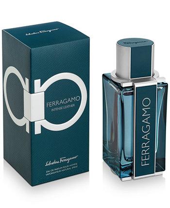 Мужская парфюмированная вода Ferragamo Intense Leather, спрей, 3,4 унции. Salvatore Ferragamo