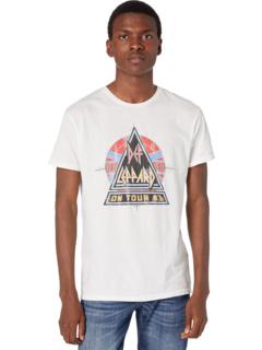 Винтажная хлопковая футболка Def Leppard Music The Original Retro Brand