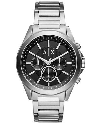 Мужские часы с хронографом из нержавеющей стали с браслетом AX2600 Armani Exchange