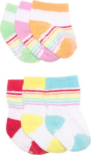 Носки для экипажа и неявки Rainbow Essentials - набор из 6 шт. Robeez