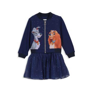"Little Girl's Disney x Pippa & amp; Джули Леди & amp; Набор из 2 предметов ""Бродяга"" Disney x Pippa & Julie"