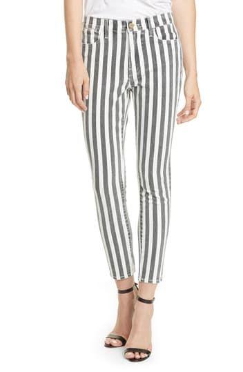 Укороченные джинсы Le High Skinny FRAME