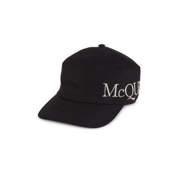 Oversized Logo Hat Alexander McQueen