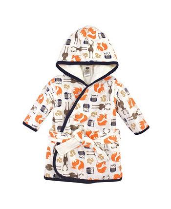 Халат для маленьких мальчиков из хлопка Hudson Baby