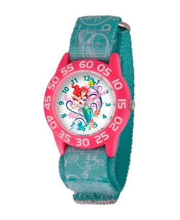Пластмассовые Часы Учителя Времени Диснея Ариэля Девочек Ewatchfactory