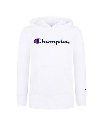 Худи с вышивкой и регланом Champion для девочек Champion