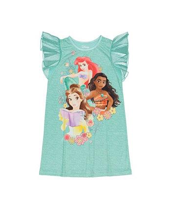 Ночная рубашка принцессы для маленьких девочек Disney