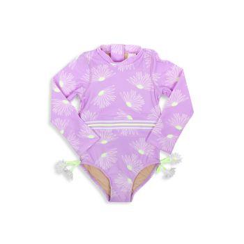 Слитный купальник Lilac Rush для малышек и маленьких девочек Shade critters
