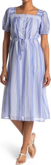 Платье миди с короткими рукавами Collective Concepts