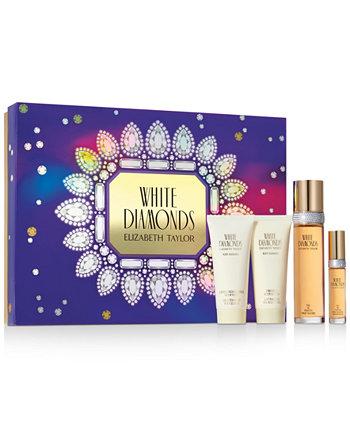 4-шт. Подарочный набор ароматов White Diamonds Elizabeth Taylor