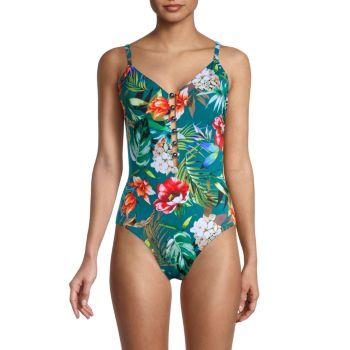 Serenity Stella Floral One-Piece Swimsuit Magicsuit
