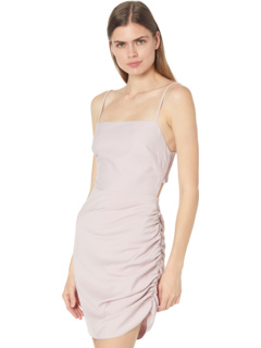 Мини-платье с драпировкой на спине и драпировкой Bardot WAYF