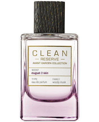 Avant Garden Muguet & Skin Eau de Parfum, 3,4 унции. CLEAN Fragrance