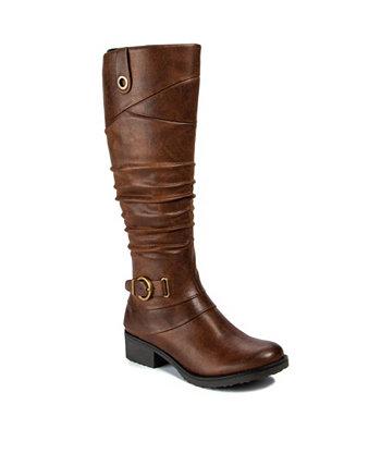 Женские ботинки Onika Wide Calf с высоким голенищем Baretraps