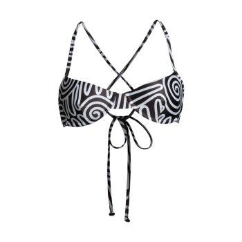 Верх бикини на косточках с графическим принтом Mazlyn Mara Hoffman