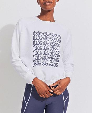 Women's Raglan Joie De Vivre Sweatshirt Kensie