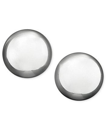 Серьги-гвоздики из металлического серебра (10 мм) Ralph Lauren