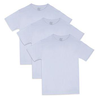 Фирменные дышащие футболки с круглым вырезом Big & Tall Fruit of the Loom®, 3 пары Fruit of The Loom