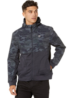 Куртка с длинными рукавами и застежкой на молнию с камуфляжным принтом 92-1128 Rock and Roll Cowboy