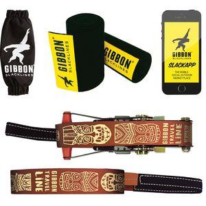 Gibbon Slacklines Travelline Treewear Set Gibbon Slacklines