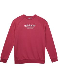 Adicolor Crew (для детей младшего и старшего возраста) Adidas Originals Kids