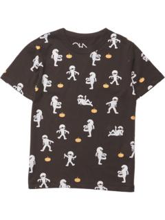 Футболка с короткими рукавами из переработанного винтажного джерси (для маленьких и больших детей) Chaser Kids