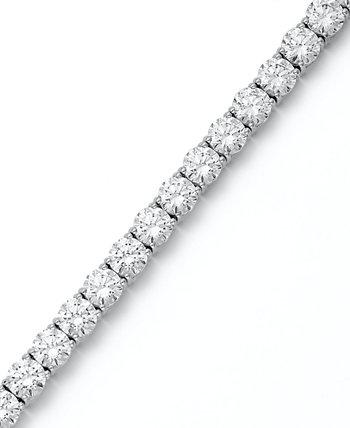Браслет из стерлингового серебра, теннисный браслет с кубическим цирконием (31 карат) Arabella