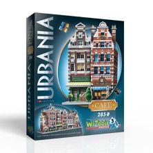Wrebbit Urbania Collection Cafe 385-элементный 3D-пазл Wrebbit