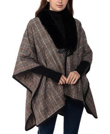 Топпер для мужской одежды с отделкой из искусственного меха, созданный для Macy's Charter Club
