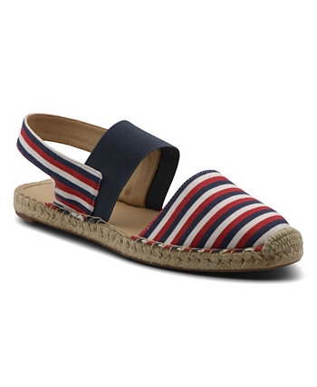 Женские сандалии на плоской подошве Angelo Espadrille Adrienne Vittadini