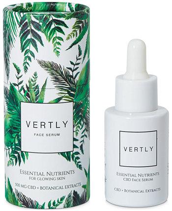 CBD-Infused Essential Nutrients Сыворотка для лица для сияющей кожи VERTLY