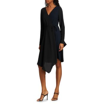 Платье с запахом носового платка Bailey 44