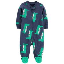 Двухсторонняя застежка-молния Baby Carter's Alligator Sleep & Play Carter's