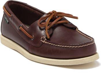 Seaquest Leather Boat Shoe Eastland
