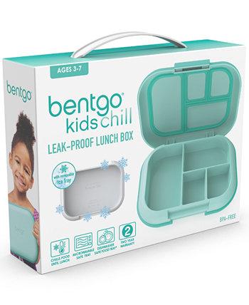 Герметичный ланч-бокс Kids Chill со съемным пакетом для льда Bentgo