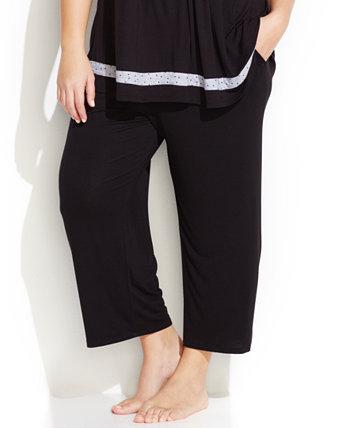 Пижамные штаны-капри большого размера с надписью Your to Love Ellen Tracy