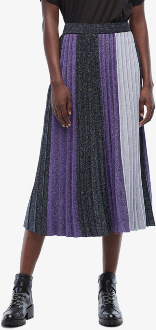 Цветная юбка со складками DEREK LAM