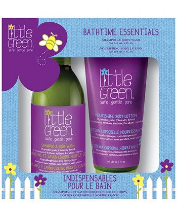Kids Bath time Essentials Set 2, 14 унций Little Green
