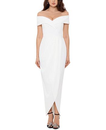 Миниатюрное платье с открытыми плечами XSCAPE