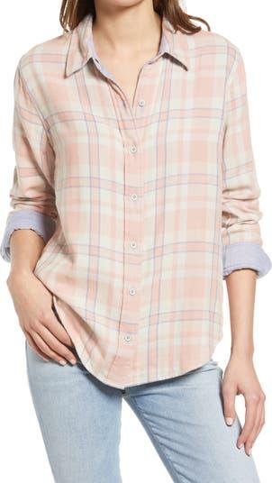 Двусторонняя рубашка на пуговицах из органического хлопка Faherty Belmar FAHERTY BRAND