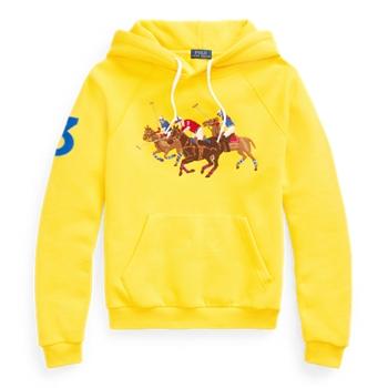 Embroidered Fleece Hoodie Ralph Lauren