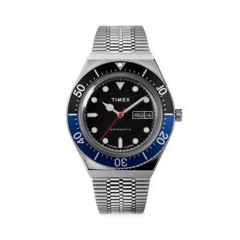 Часы M79 с автоматическим браслетом из нержавеющей стали Timex