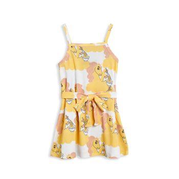 Платье с лапшой с единорогом для маленьких девочек и девочек Mini rodini
