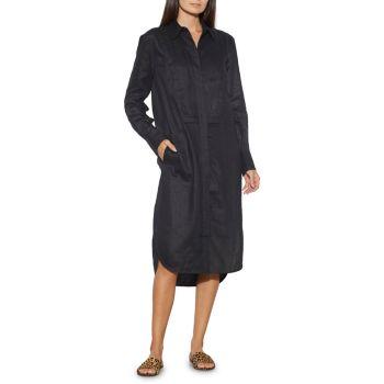 Льняное платье-рубашка Lorand EQUIPMENT