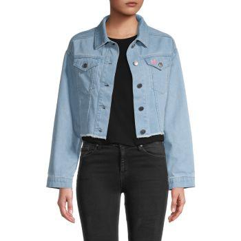 Укороченная джинсовая куртка Lany Cupcakes and Cashmere